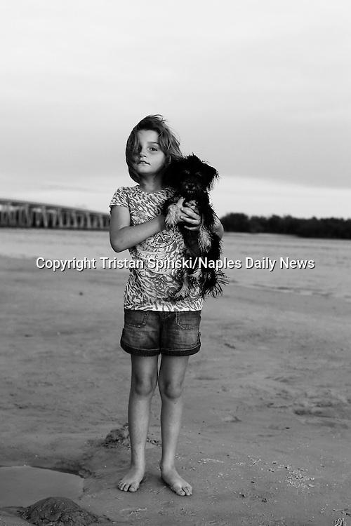 Dog beach, Bonita Springs, Fla., 2011.