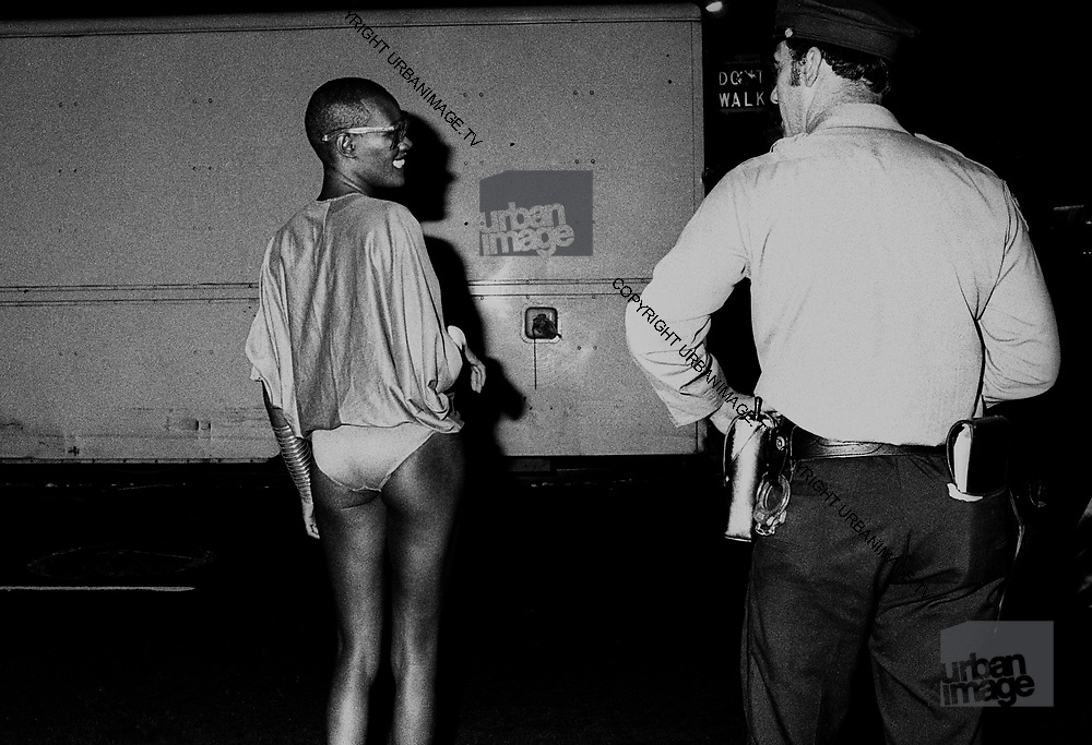 Grace Jones – Studio 54 –  New York 1981