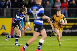 Jason Woodward of Bristol Rugby in action - Rogan Thomson/JMP - 18/11/2016 - RUGBY UNION - Recreation Ground - Bath, England - Bath Rugby v Bristol Rugby - Aviva Premiership.