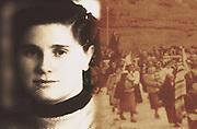 Souvenir photos of Santina Barrancotto, activist of Sicilian peasant movement after the second world war.<br /> Foto ricordo di Santina Barrancotto, attiva nelle lotte contadine nel dopoguerra in Sicilia.