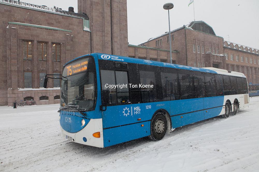 busstation in Helsinki