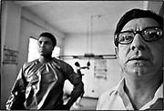 Angelo Dundee - trainer/cornerman - 5th Street Gym/Miami Beach<br /> Muhammad Ali