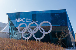 08-02-2018 KOR: Olympic Games day -1, Pyeongchang<br /> MPC Main Press Centre during a preliminary reports ahead of the opening of the Pyeongchang 2018 Winter Olympic Games in Pyeongchang, South Korea on 2018/02/04<br /> <br /> *** USE NETHERLANDS ONLY ***