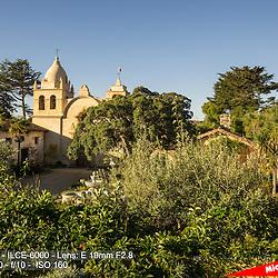 The Mission San Carlos Borromeo de Carmelo, Carmel, CA