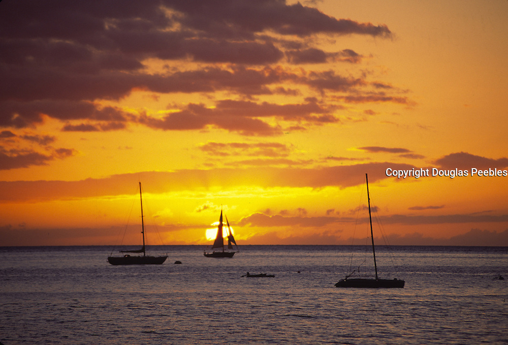 Sunset with Sailboat<br />