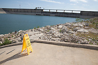 Closed Boat Ramp, Lake Travis, TX