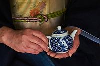 Japon, île de Honshu, région de Kansaï, Kyoto, cérémonie du thé // Japan, Honshu island, Kansai region, Kyoto, tea ceremony