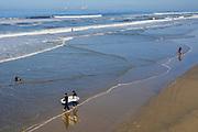 Surfing Huntington Beach Waves