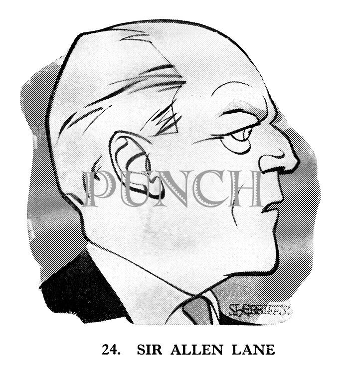 These Looks Speak Volumes 24. Sir Allen Lane.