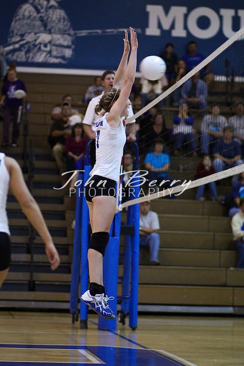 MCHS Varsity Volleyball .vs Strasburg .10/6/09