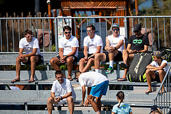 Team Grega Zemlja at ATP Challenger Zavarovalnica Sava Slovenia Open 2018, on August 4, 2018 in Sports centre, Portoroz/Portorose, Slovenia. Photo by Urban Urbanc / Sportida