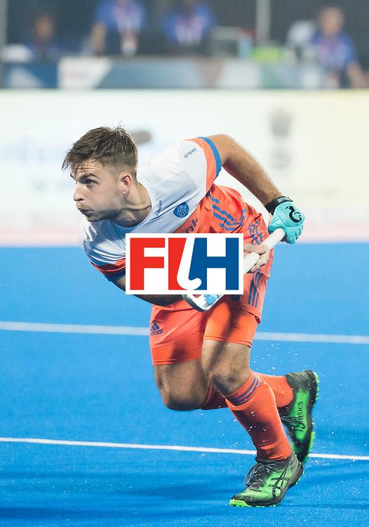 BHUBANESWAR - Tristan Algera (Ned)   tijdens de Hockey World League Final wedstrijd Nederland-Argentinie. . COPYRIGHT  KOEN SUYK