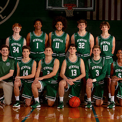Newman Boys Basketball Varsity-JV Portraits