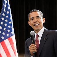 Barack Obama Campaigning in Jacksonville Florida