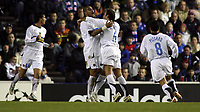 Fotball<br /> UEFA Champions League<br /> 06.12.2005<br /> Rangers v Inter 1-1<br /> Foto: imago/Digitalsport<br /> NORWAY ONLY<br /> <br /> 06.12.2005 <br /> <br /> Torjubel Inter mit Adriano (Mitte), Cristiano Zanetti (2.v.re.), David Pizarro (re.) und Marco Andreolli