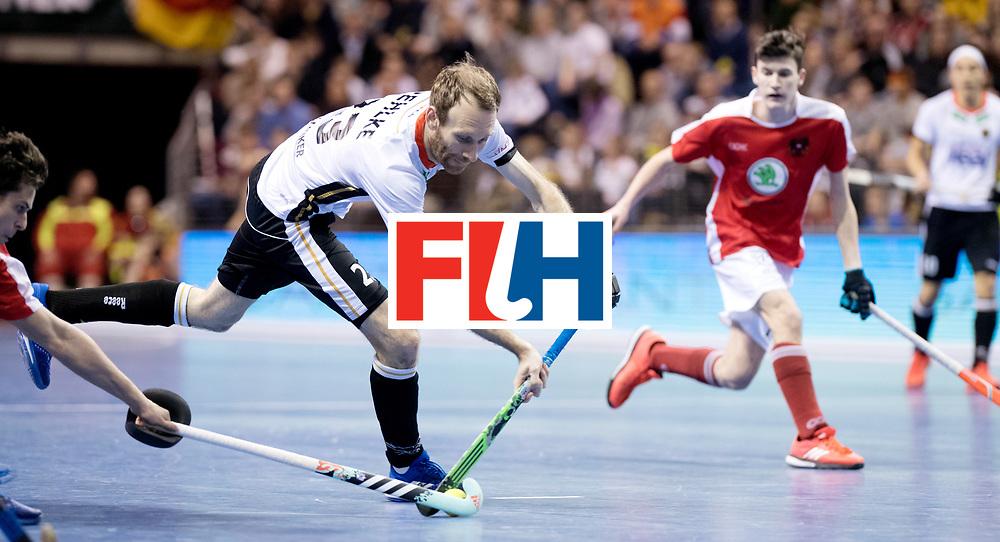 BERLIN - Indoor Hockey World Cup<br /> Final: Germany - Austria<br /> foto: Fabian Pehlke.<br /> WORLDSPORTPICS COPYRIGHT FRANK UIJLENBROEK