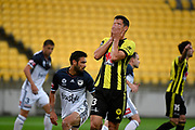 Wellington Phoenix&rsquo; Marco Rossi in action during the A League - Wellington Phoenix v Melbourne Victory FC at Westpac Stadium, Wellington, New Zealand on Wednesday 10 January 2018. <br /> Photo by Masanori Udagawa. <br /> www.photowellington.photoshelter.com