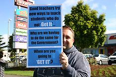 Auckland-Rolling teachers strikes, Takanini