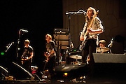 Photos of singer Holly Miranda and her band performing at the Pageant in St. Louis in support of Tegan and Sara on their 2010 tour.