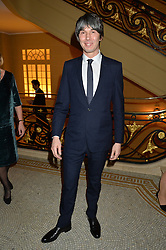 PROF.BRIAN COX at a reception to celebrate the Debrett's 500 2015 - a recognition of Britain's 500 most influential people, held at The Club at The Cafe Royal, 68 Regent Street, London on 26th January 2015.