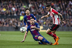 March 18, 2018 - Barcelona, Spain - BARCELONA, SPAIN - MARCH 18: 17 Paco Alcazer from Spain of FC Barcelona during La Liga match between FC Barcelona v Atletic de Bilbao at Camp Nou Stadium in Barcelona on 18 of March, 2018. (Credit Image: © Xavier Bonilla/NurPhoto via ZUMA Press)