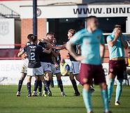 Dundee v Hearts 30-09-2017