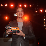 NLD/Amsterdam/20150203 - Uitreiking 100% NL Awards 2015, Sjors van der Panne krijgt de award voor Doorbraak van het Jaar