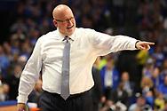 November 17, 2017 - Lexington, Kentucky - Rupp Arena: ETSU head coach Steve Forbes<br /> <br /> Image Credit: Dakota Hamilton/ETSU