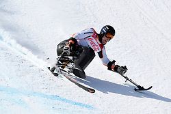 KREITER Georg LW10-1 GER competing in the Para Alpine Skiing Downhill at the PyeongChang2018 Winter Paralympic Games, South Korea