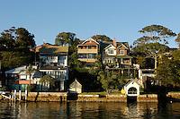 Houses in East Balmain, Sydney, Australia. January 2nd-11th 2007.
