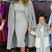 Tamara Ecclestone and Sophia Ecclestone-Rutland attend European Premiere of Frozen 2 on 17 November 2019, BFI Southbank, London, UK.