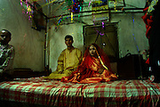 Marriage ceremony; 10th April,2008. Mirpur, Dhaka, Bangladesh