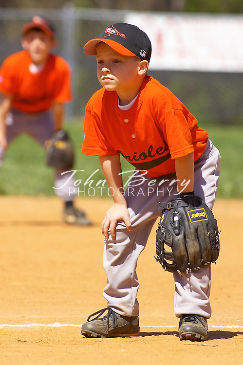 Rookie League, Orioles vs Cardinals on Opening Day, April 16, 2005..