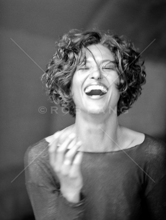 woman with a great smile and laugh