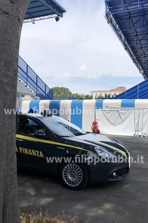 GUARDIA FINANZA ALLO STADIO PAOLO MAZZA DI FERRARA