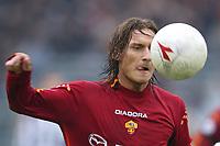 Roma 22/2/2004 <br />Roma Siena 6-0 <br />Francesco Totti (Roma) <br />Photo Andrea Staccioli Graffiti