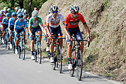 Vincenzo Nibali (ITA, Bahrain - Merida) during the 73th Edition of the 2018 Tour of Spain, Vuelta Espana 2018, Stage 14 cycling race, Cistierna - Les Praeres Nava 171 km on September 8, 2018 in Spain - Photo Angel Gomez/ BettiniPhoto / ProSportsImages / DPPI