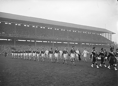 All Ireland Senior Football Championship Final, Cork v Galway, Galway 2-13 Cork 3-7,.07.10.1956, 10.07.1956, 7th October 1956, 7101956AISFCF, .