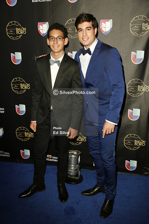 LOS ANGELES, CA - JULY 15: Juan Carrera and Danilo Carrera attend Univision Deportes' Balon De Oro 2017 Awards at The Orpheum Theatre in Los Angeles, California on July 15, 2017 in Los Angeles, California. Byline, credit, TV usage, web usage or linkback must read SILVEXPHOTO.COM. Failure to byline correctly will incur double the agreed fee. Tel: +1 714 504 6870.
