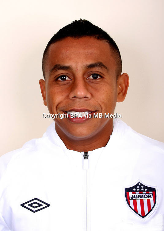 Colombia League - Postobom Liga 2014-2015 -<br /> Club Deportivo Junior de Barranquilla - Colombia / <br /> Vladimir Hernandez