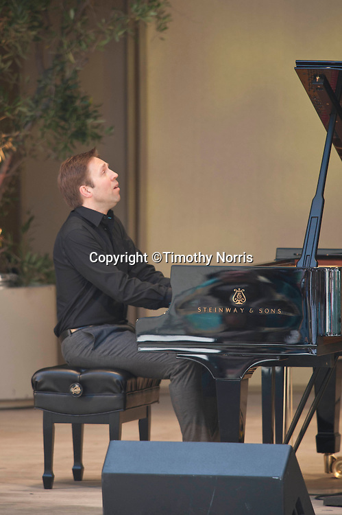 "Leif Ove Andsnes performs Beethoven's Piano Sonata in C Major, Op. 53, ""Waldstein"" at the 66th Ojai Music Festival on June 9, 2012 in Ojai California."