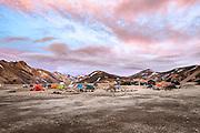 Landmannalaugar in South Iceland highland