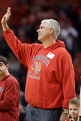 17 January 2015:   Former Redbird Jon Pemberton during an NCAA MVC (Missouri Valley Conference men's basketball game between the Bradley Braves and the Illinois State Redbirds at Redbird Arena in Normal Illinois