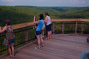 Northcentral Pennsylvania, Viewers' Platform, Harrison State Park, Pine Creek Gorge