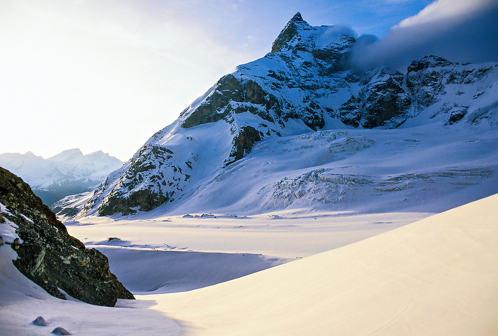 Tiefmatten Glacier and the Matterhorn, Haute Route, Switzerland