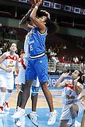DESCRIZIONE : Riga Latvia Lettonia Eurobasket Women 2009 Quarter Final Spagna Italia Spain Italy<br /> GIOCATORE : Marte Alexander<br /> SQUADRA : Italia Italy<br /> EVENTO : Eurobasket Women 2009 Campionati Europei Donne 2009 <br /> GARA : Spagna Italia Spain Italy<br /> DATA : 17/06/2009 <br /> CATEGORIA : tiro<br /> SPORT : Pallacanestro <br /> AUTORE : Agenzia Ciamillo-Castoria/E.Castoria<br /> Galleria : Eurobasket Women 2009 <br /> Fotonotizia : Riga Latvia Lettonia Eurobasket Women 2009 Quarter Final Spagna Italia Spain Italy<br /> Predefinita :
