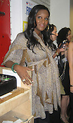 Usher's pregnant wife Tameka Foster.The Dream Concert to raise funds for the Washington, DC, Martin Luther King, Jr National Memorial. -Backstage-.Organized by Quincy Jones, Tommy Hilfiger and Russell Simmons.Radio City Music Hall.New York City, NY, USA .Tuesday, September 18, 2007.Photo By Selma Fonseca/ Celebrityvibe.com.To license this image call (212) 410 5354 or;.Email: celebrityvibe@gmail.com; .