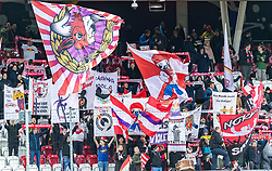 31.03.2018, Red Bull Arena, Salzburg, AUT, 1. FBL, FC Red Bull Salzburg vs RZ Pellets WAC, 28. Runde, im Bild Salzburger Fans // during Austrian Football Bundesliga 28th round Match between FC Red Bull Salzburg and RZ Pellets WAC at the Red Bull Arena, Salzburg, Austria on 2018/03/31. EXPA Pictures © 2018, PhotoCredit: EXPA/ JFK