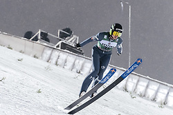 February 8, 2019 - Lahti, Finland - Anže Semenič participates in FIS Ski Jumping World Cup Large Hill Individual training at Lahti Ski Games in Lahti, Finland on 8 February 2019. (Credit Image: © Antti Yrjonen/NurPhoto via ZUMA Press)
