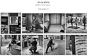 60 Rue de Wiertz is a documentary photo essay about the daily life in the European Parliament in Brussels.